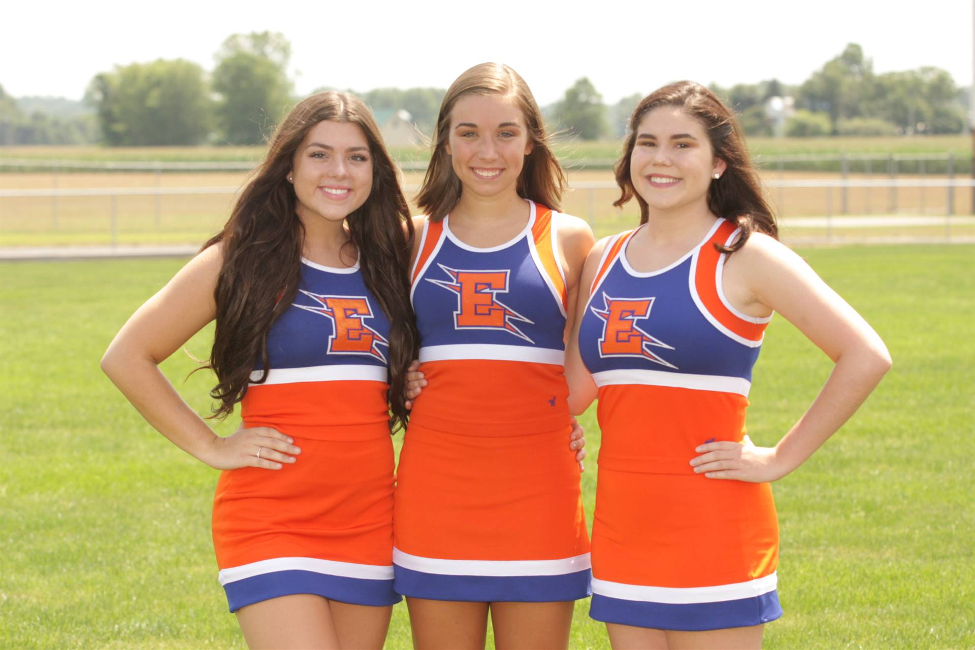 2019 Senior Fall Cheerleaders