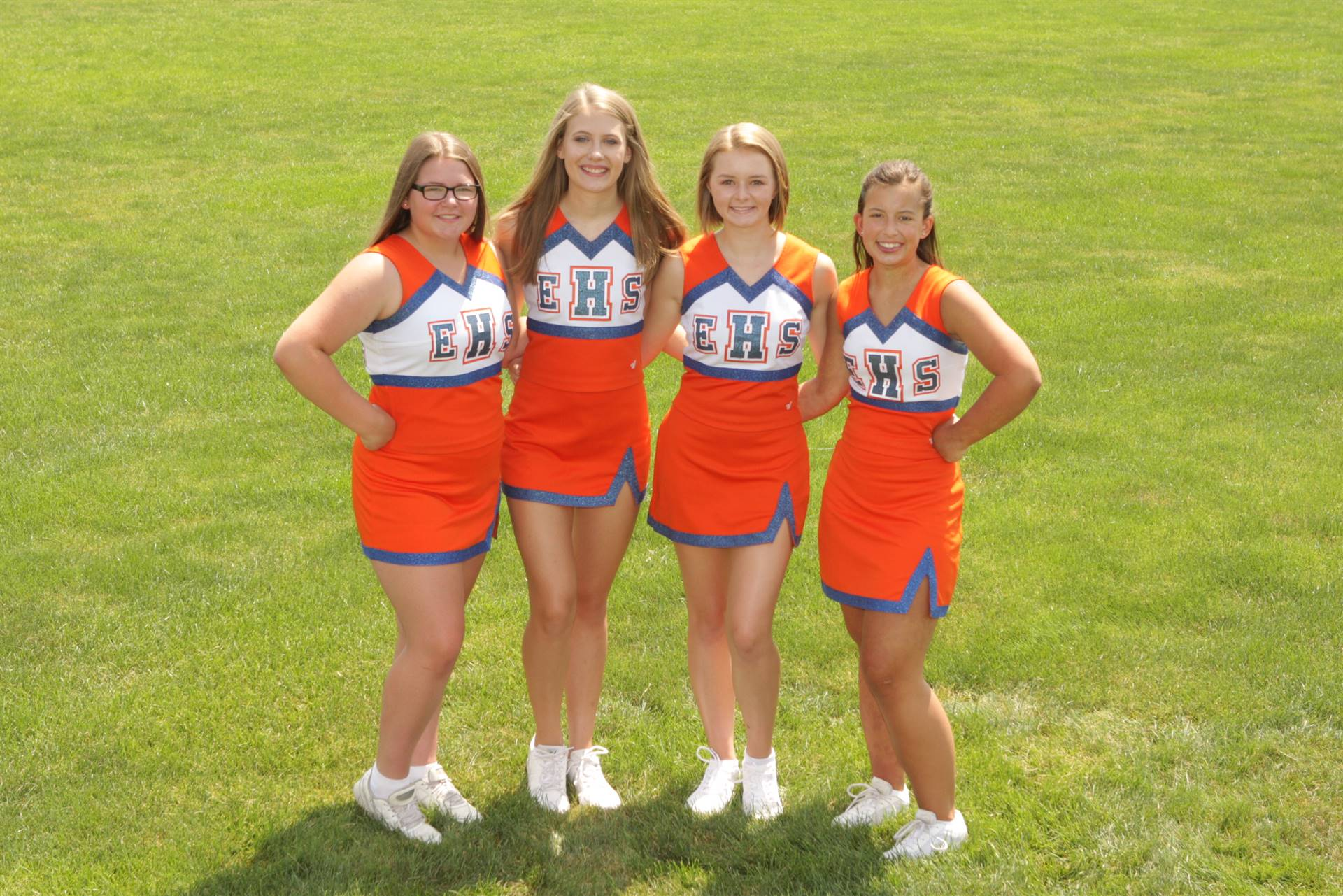 2019 Junior Varsity Cheerleaders