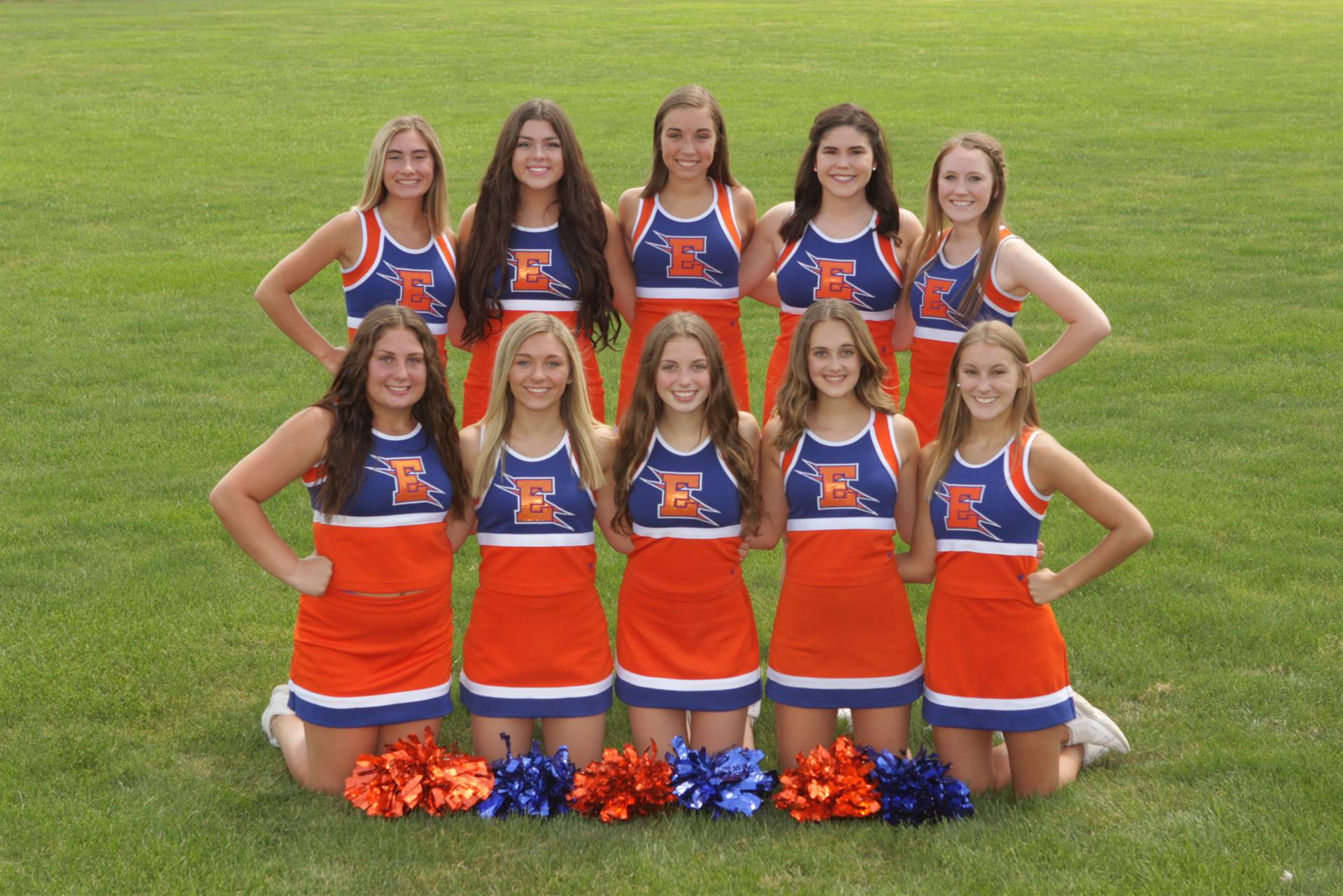 2019 Varsity Cheerleaders