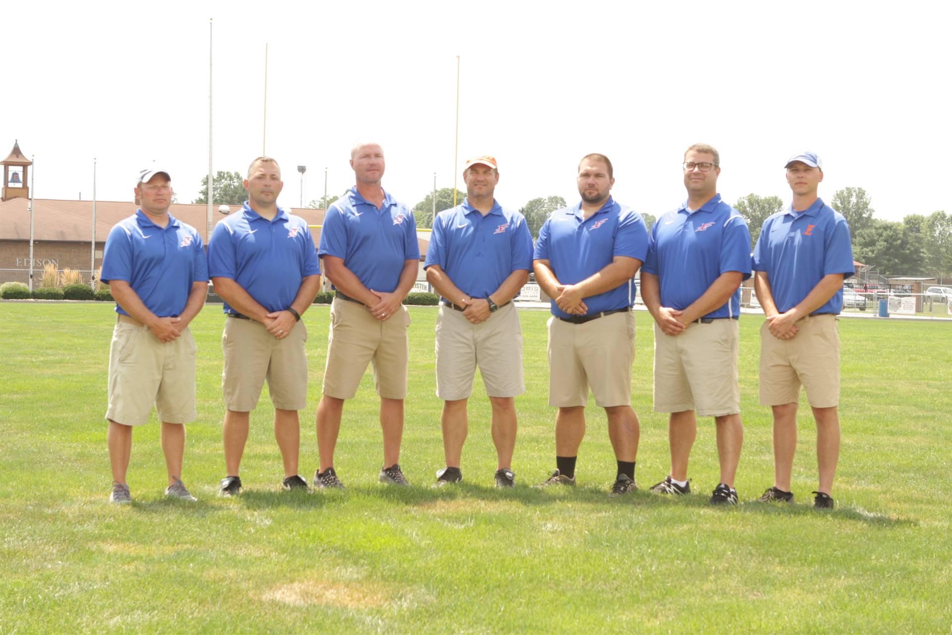2019 Football Coaching Staff