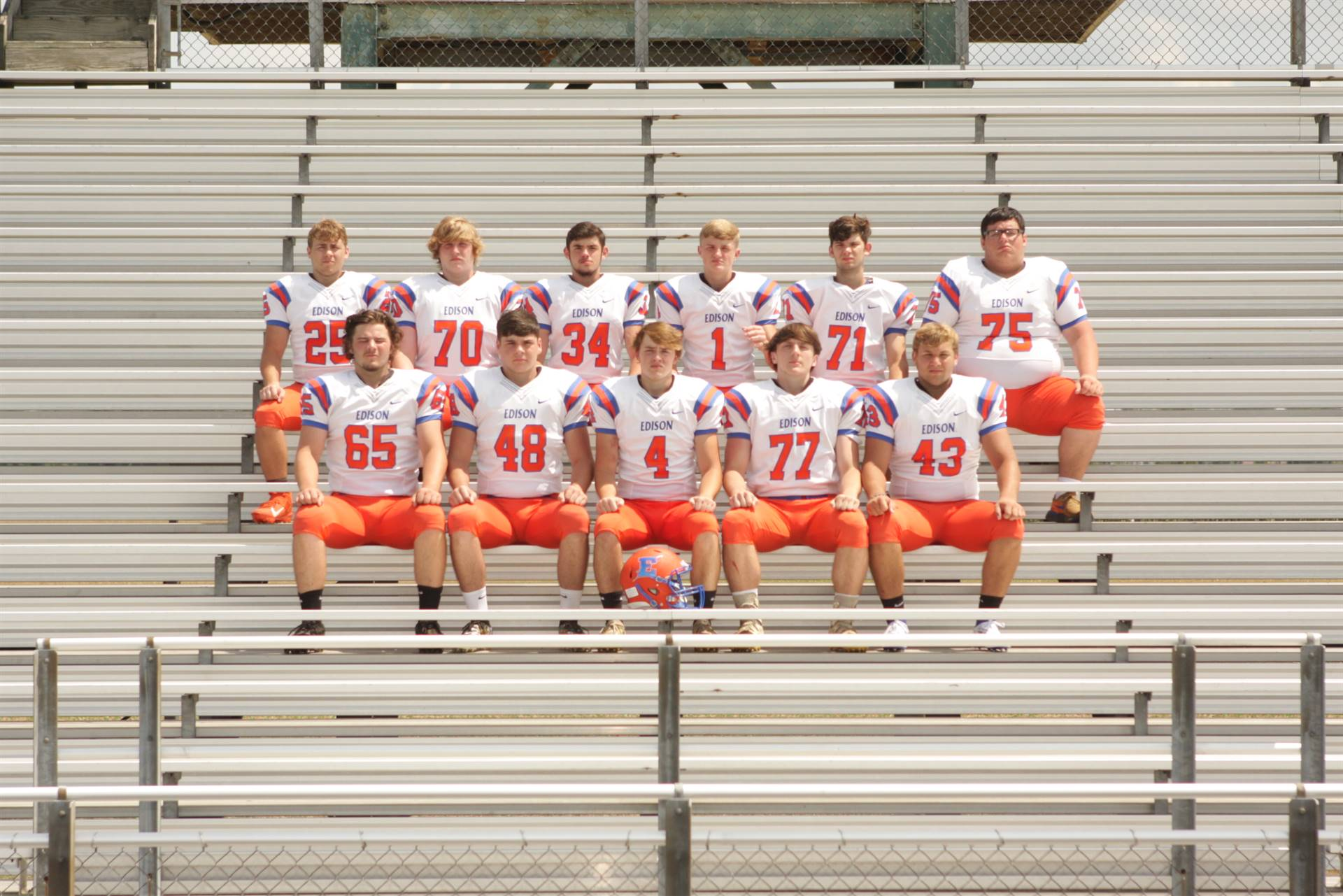 2019 Senior Football Players