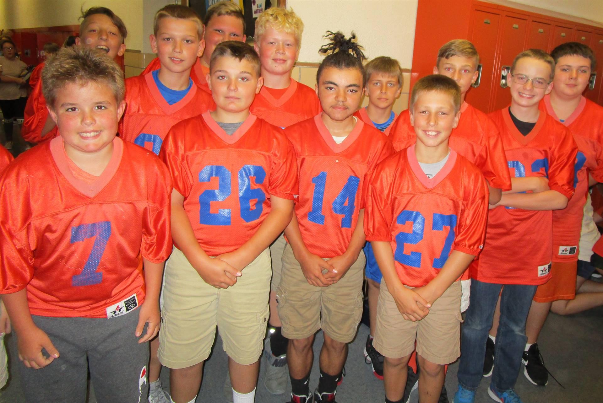 7th Grade Footbal