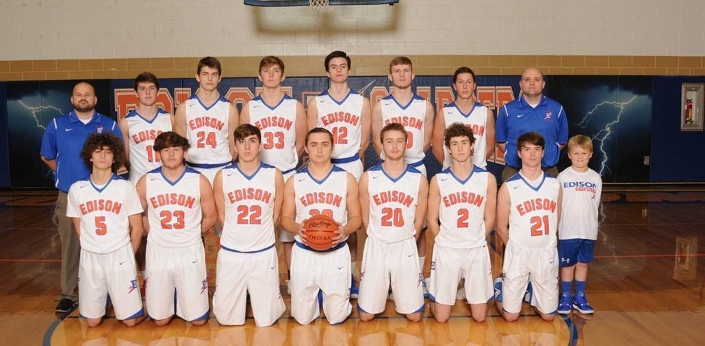 2019-2020 Varsity Boys Basketball Team