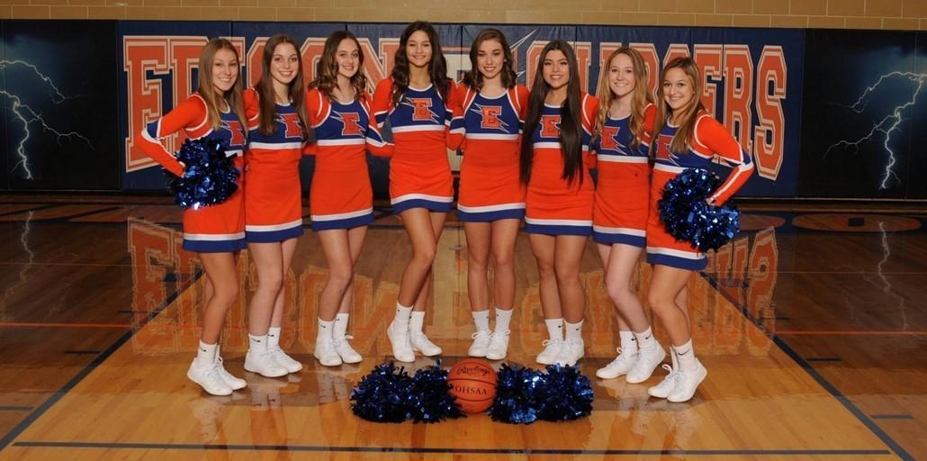2019-2020 Varsity Cheerleaders