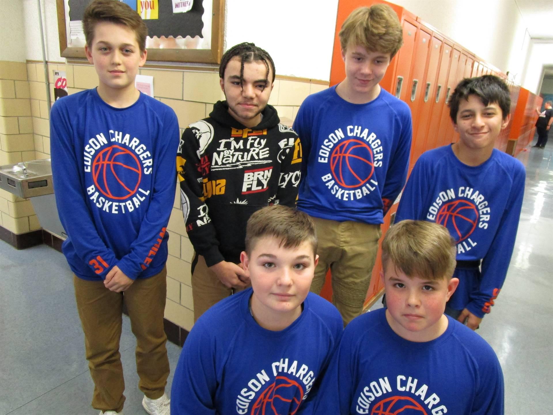 7th Grade Boys Basketball 20019-2020 Season