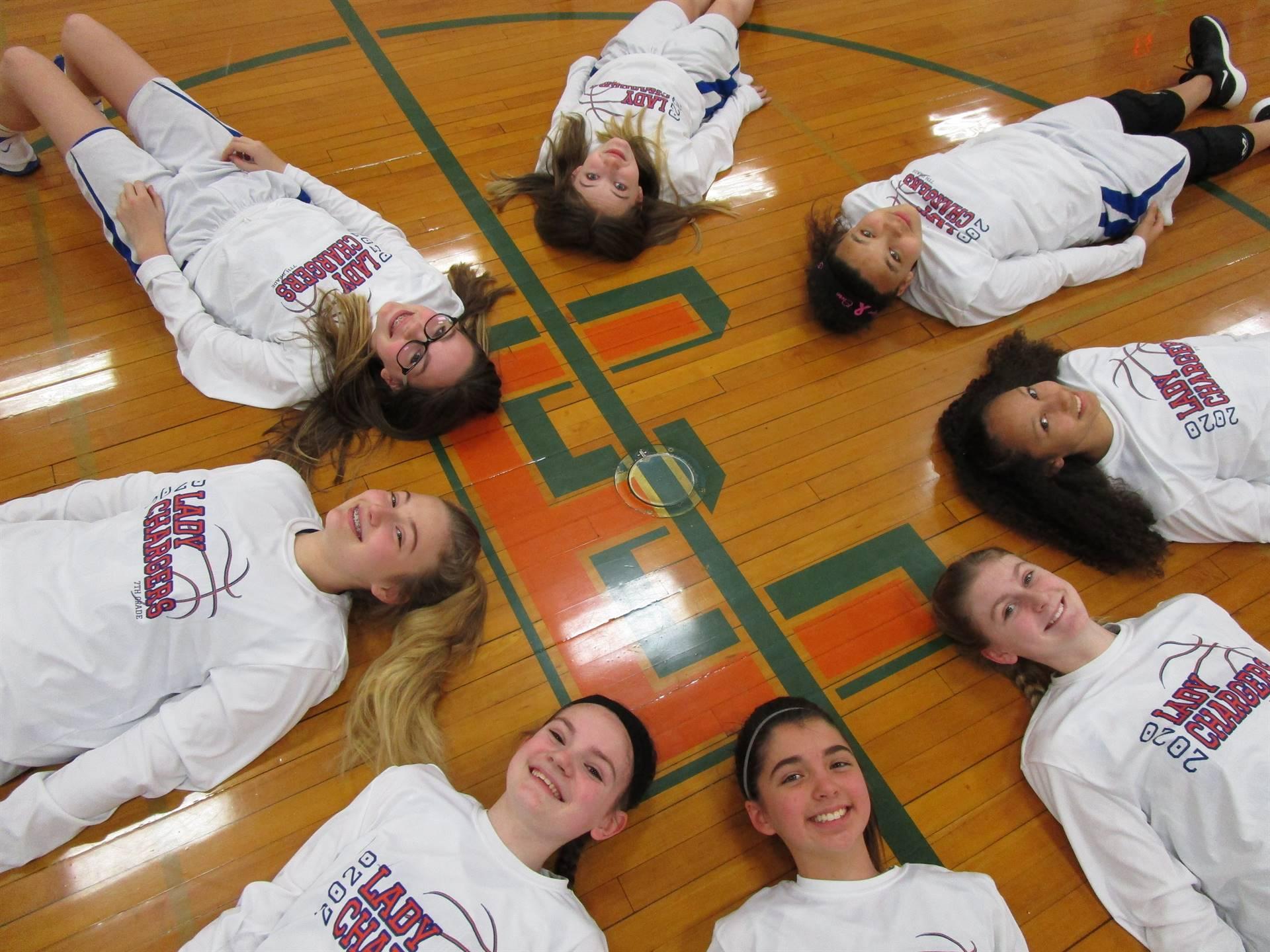 7th Grade Girls Basketball 2019-2020 Season