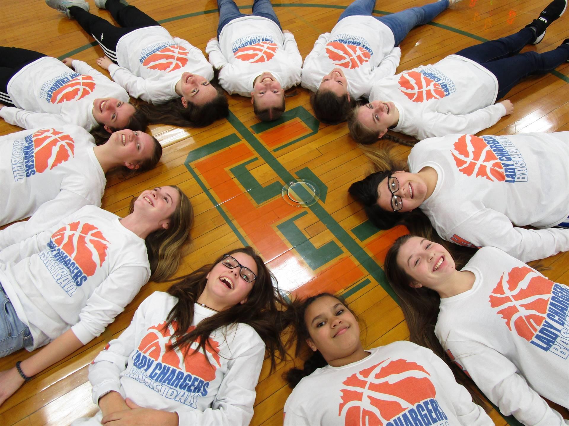 8th Grade Girls Basketball 2019-2020 Season