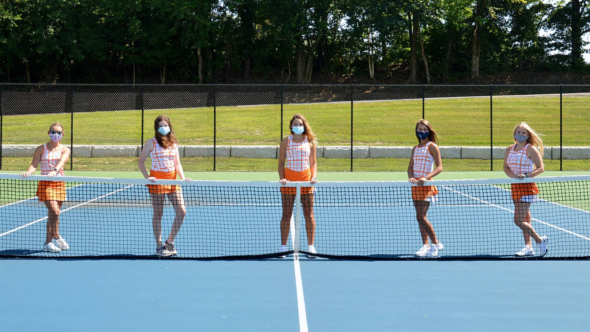 2020 Girls Tennis Seniors