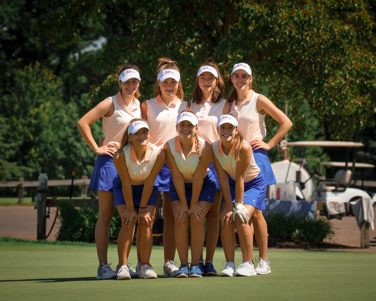 2020 Girls Golf Team