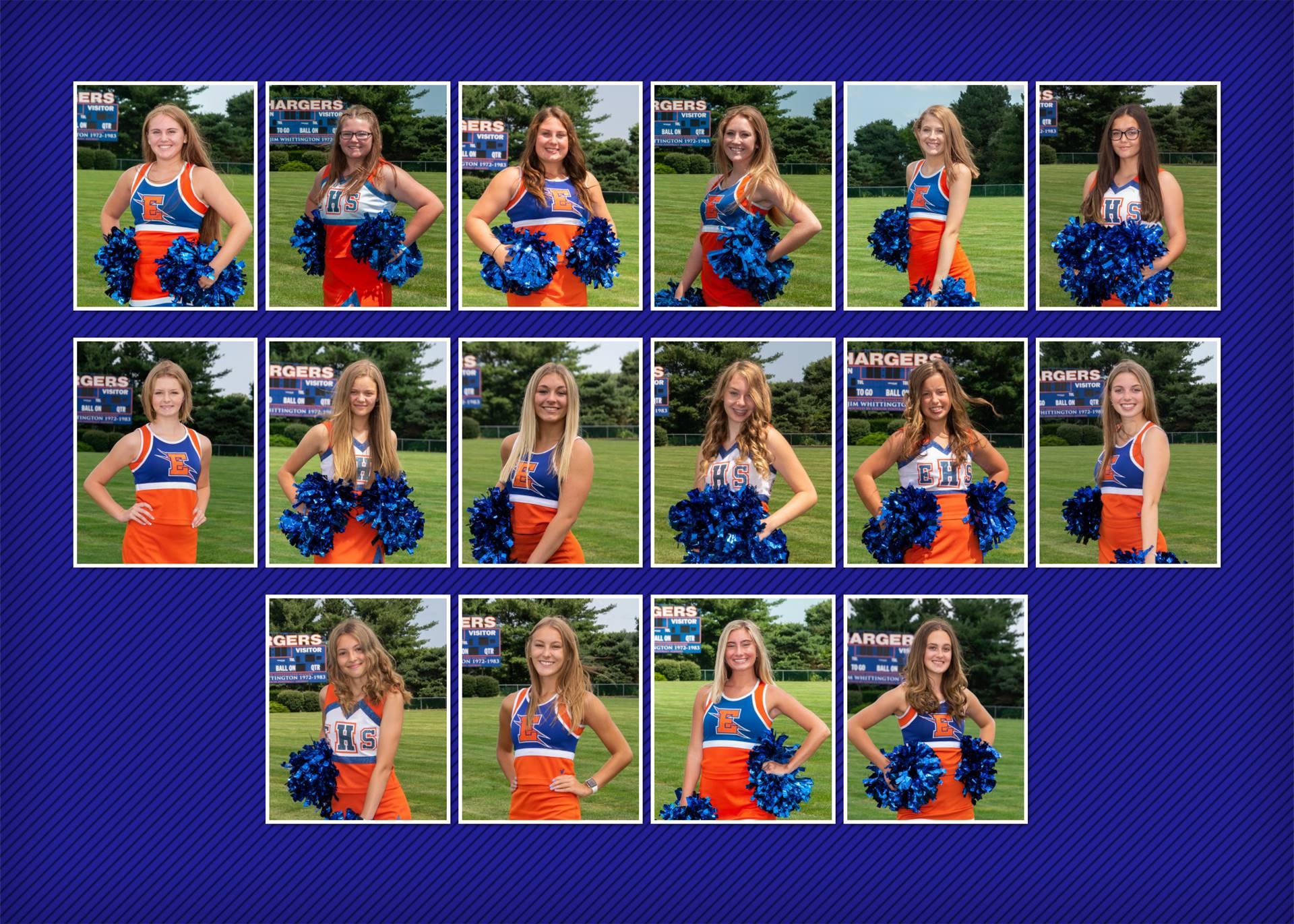 Cheerleaders Team Photo