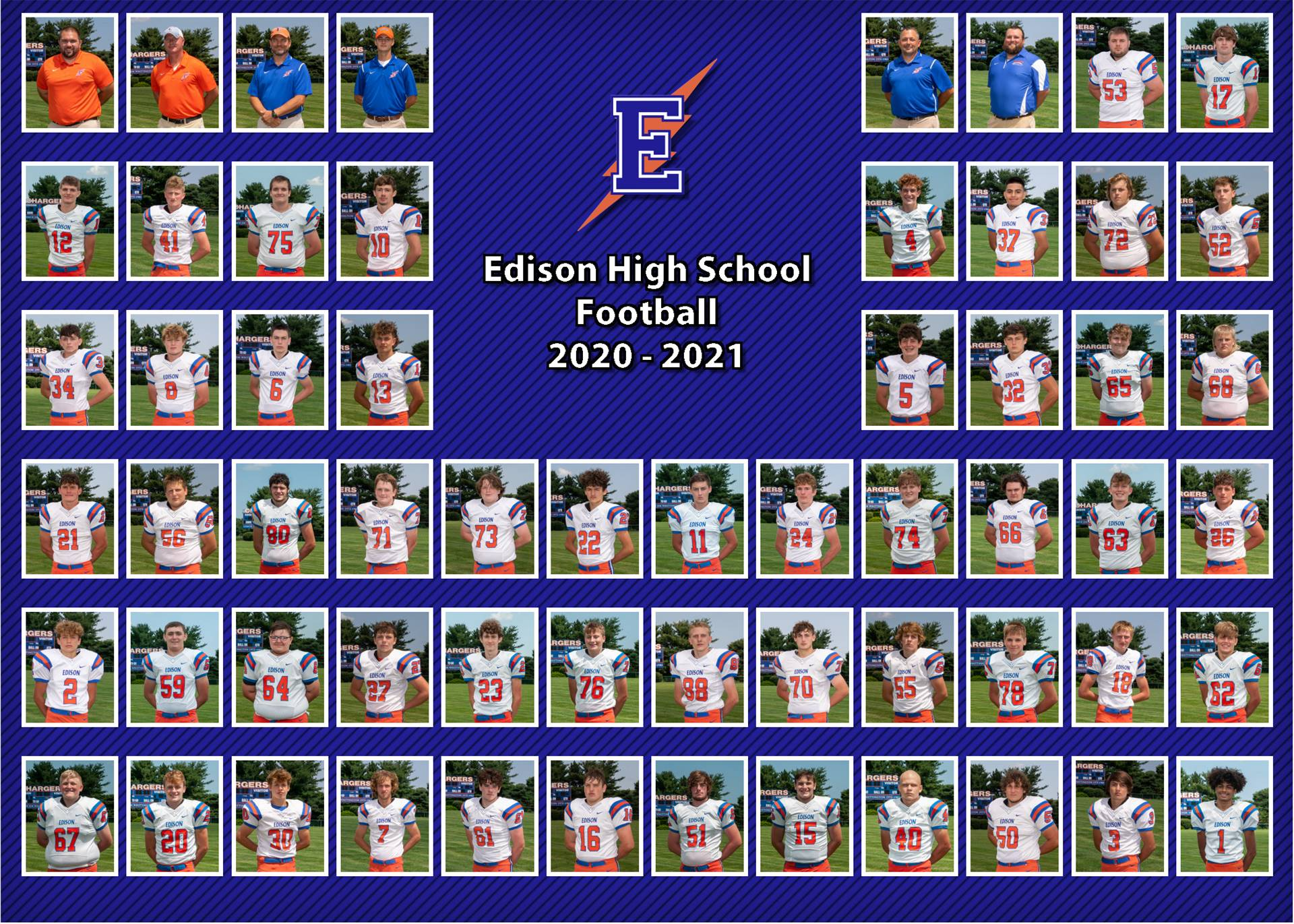 2020 Football Team Photo