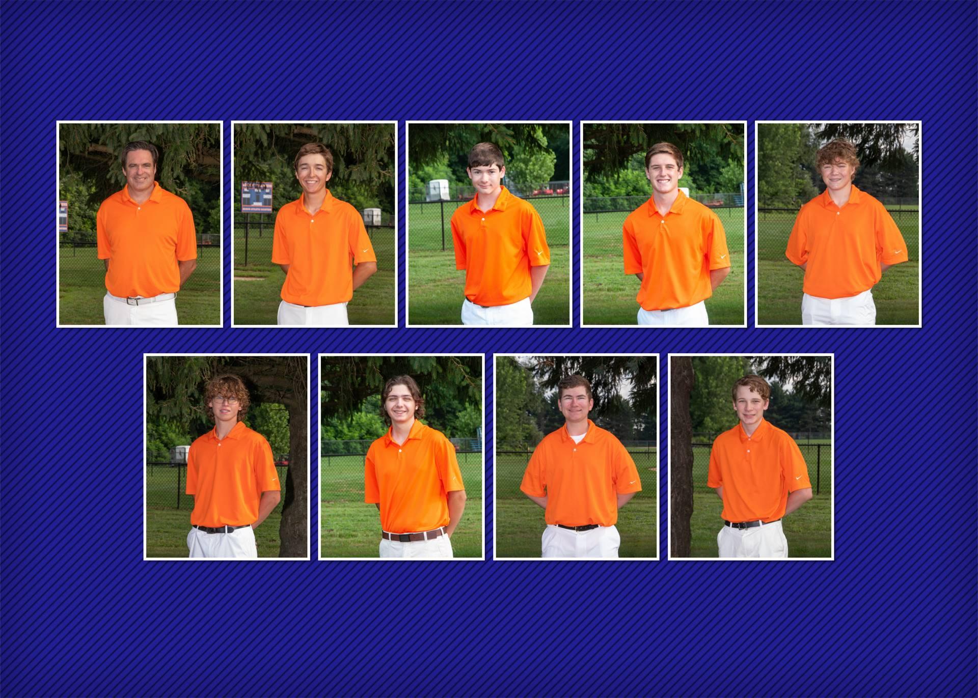 2020 Boys Golf Team
