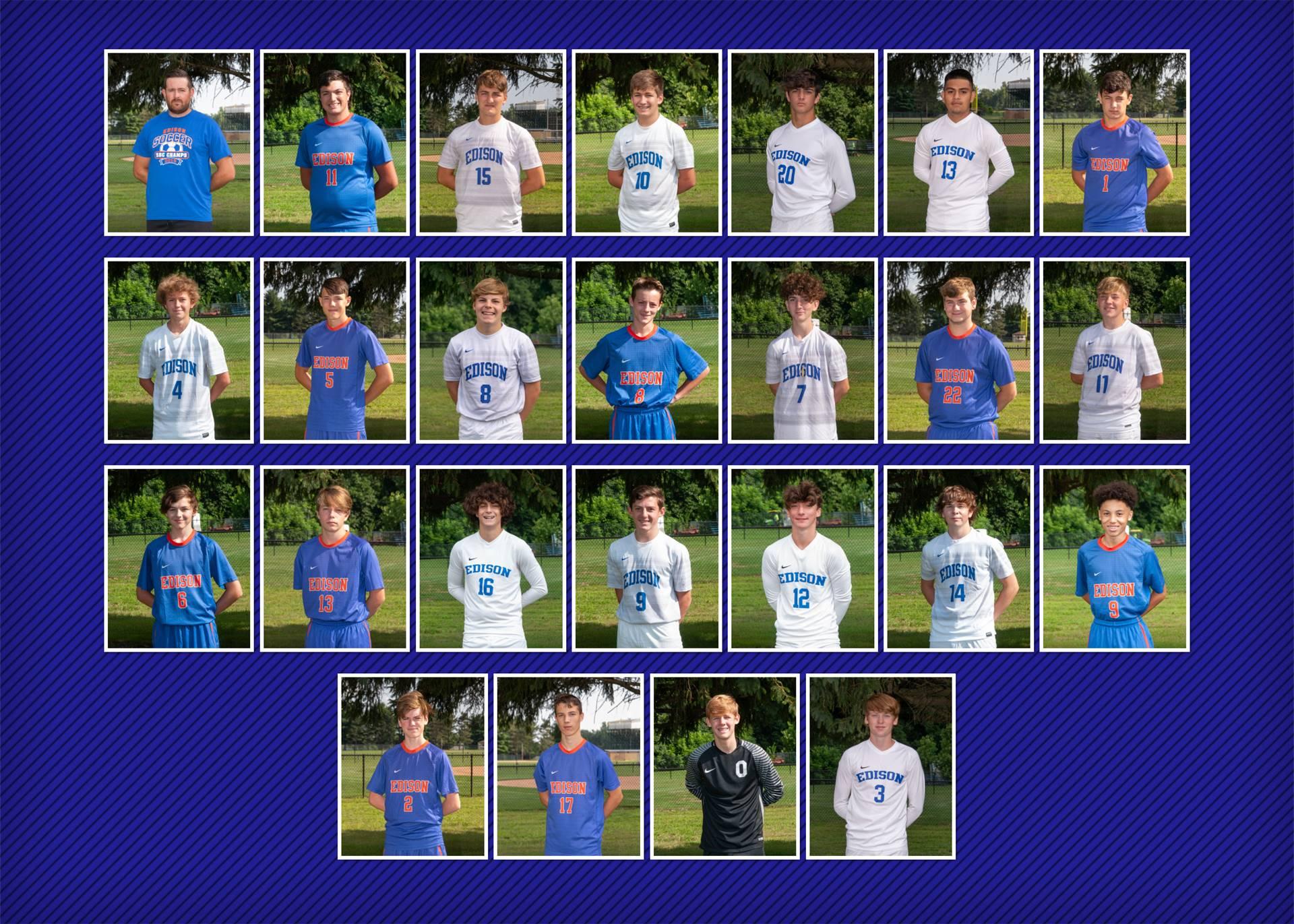 2020 Boys Soccer Team
