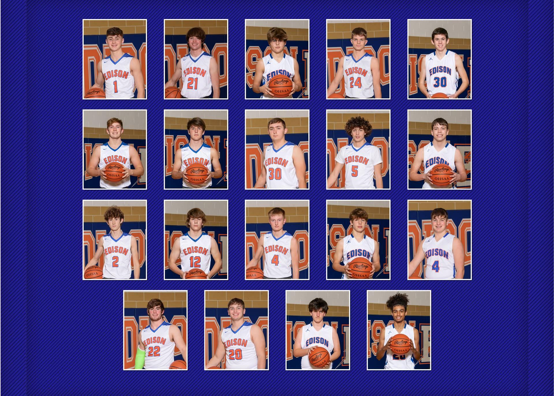 2020-21 Charger Basketball Team