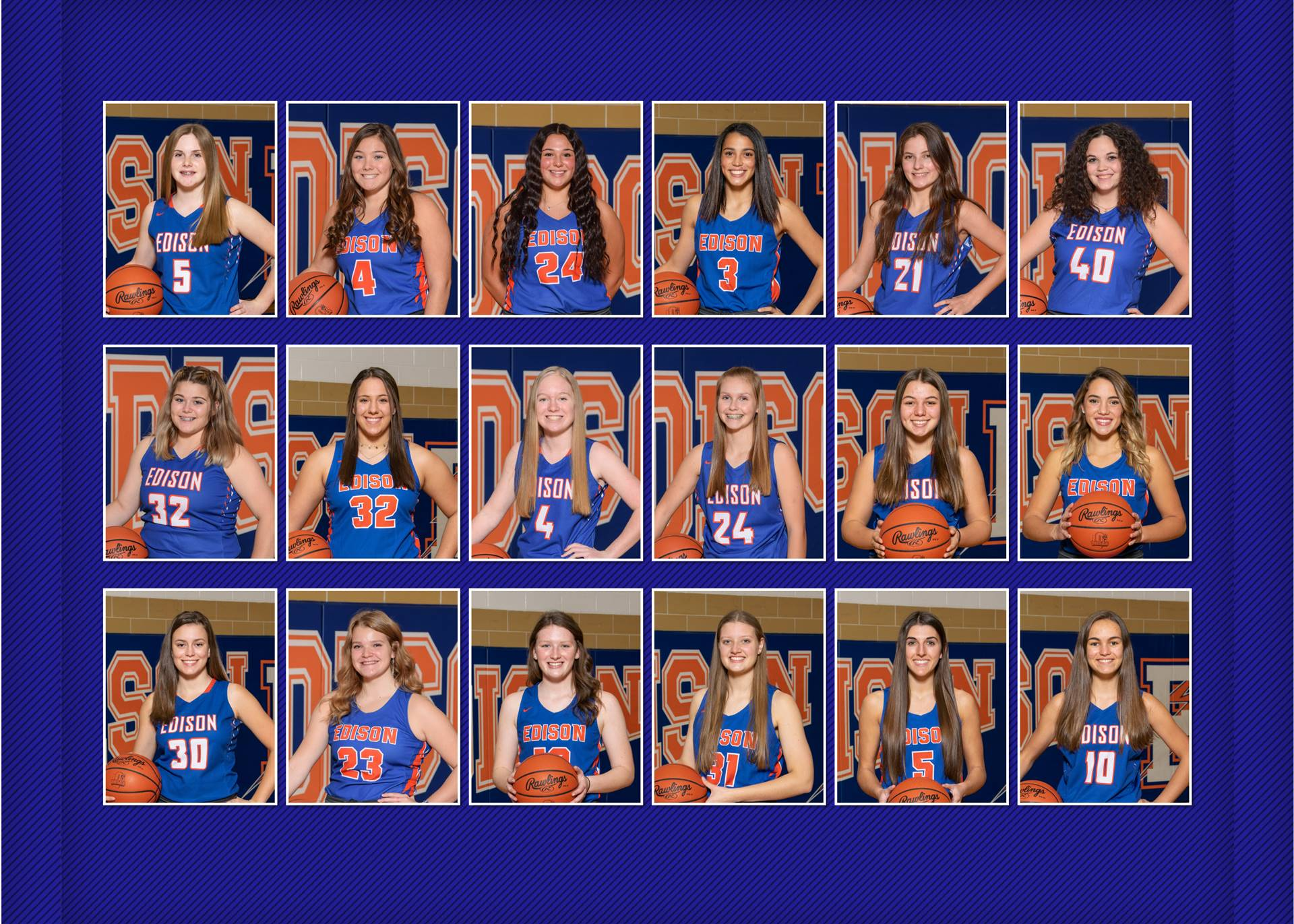 2020-21 Lady Charger Basketball Team