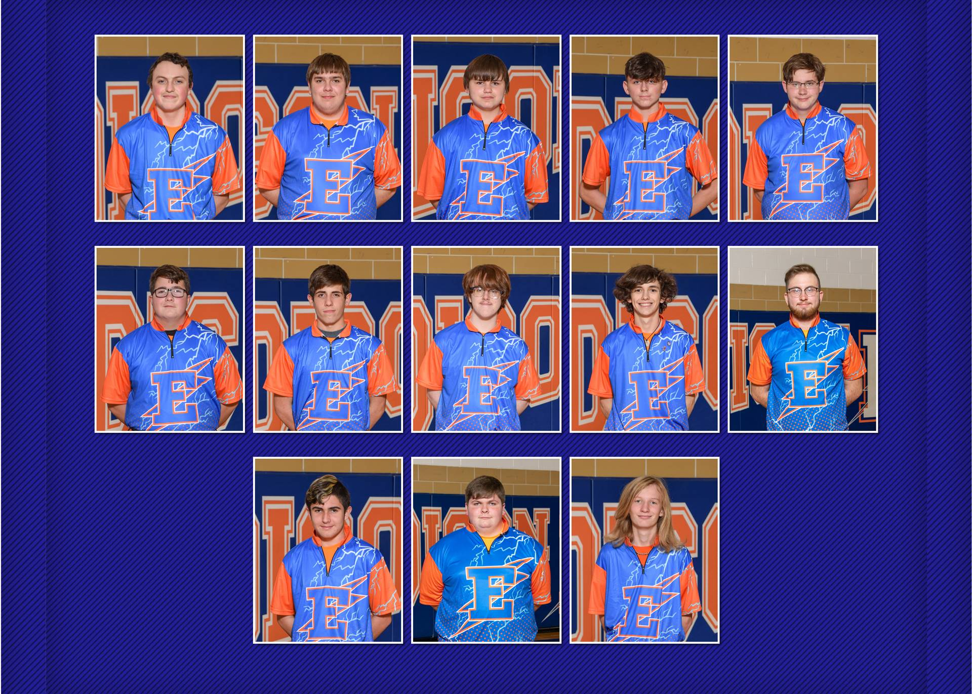 2020-21 Charger Bowling Team