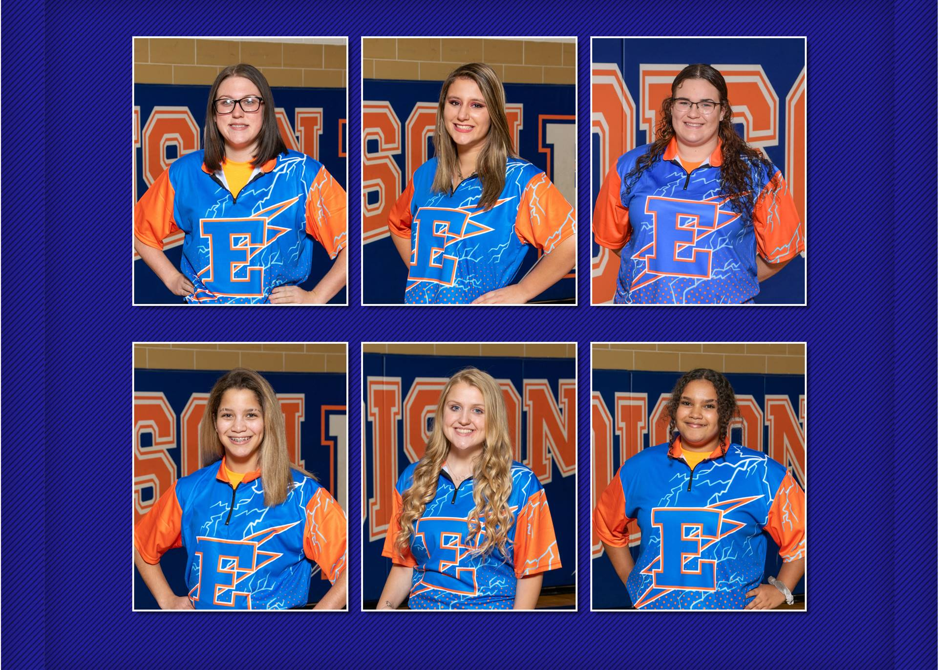 2020-21 Lady Charger Bowling Team