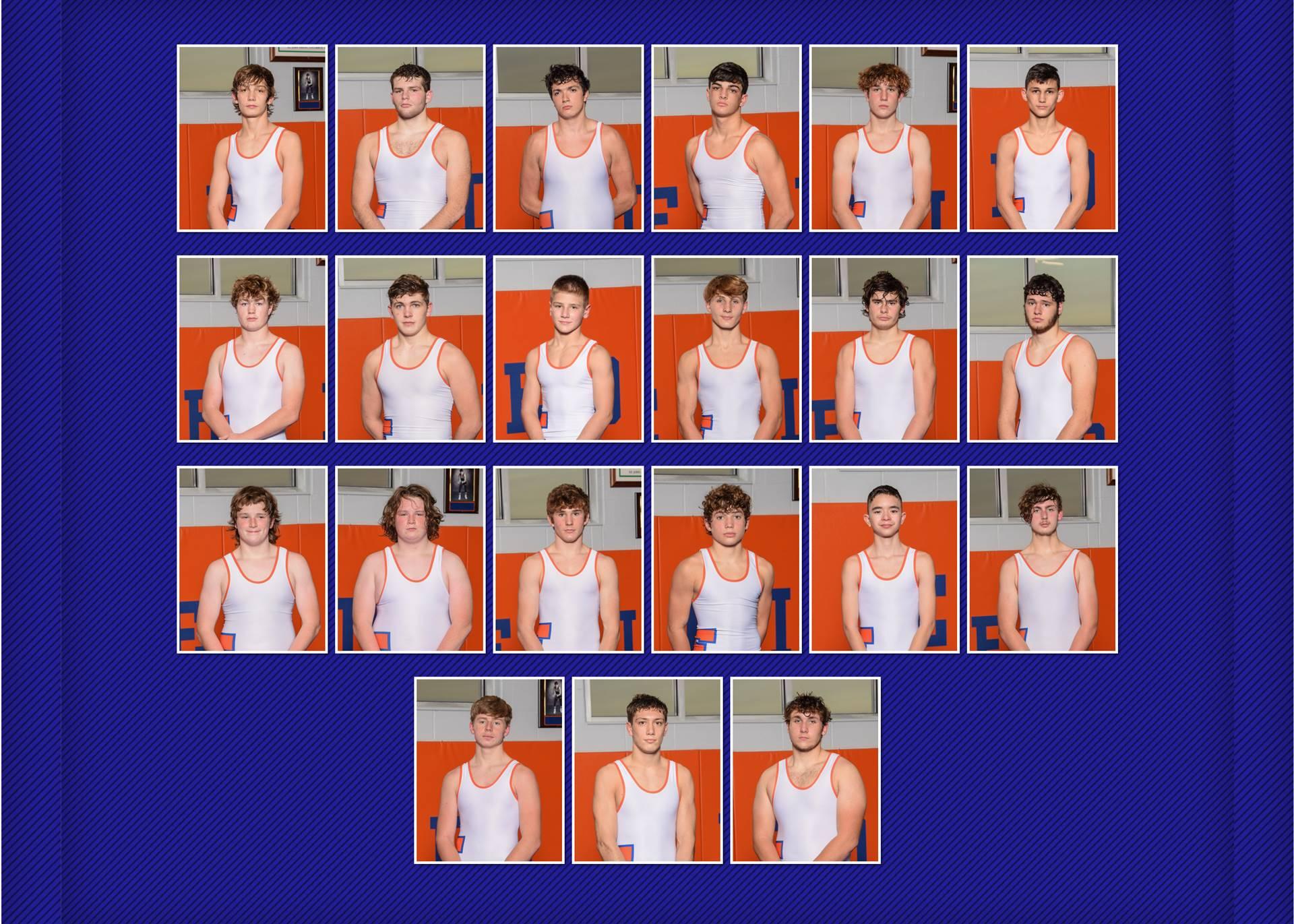 2021 Charger Wrestling Team