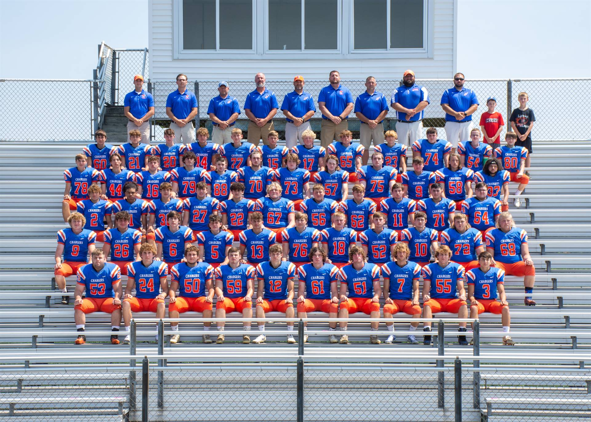 Charger Football Team