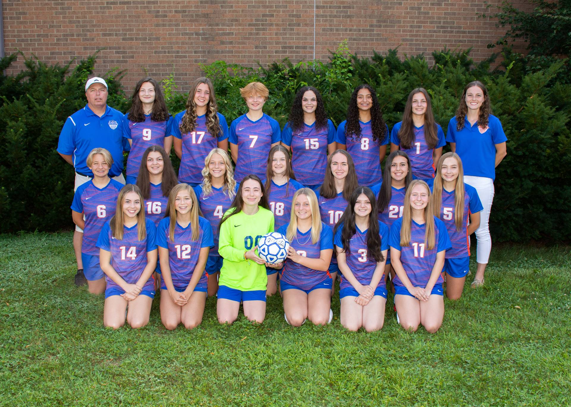 Lady Charger Soccer Team