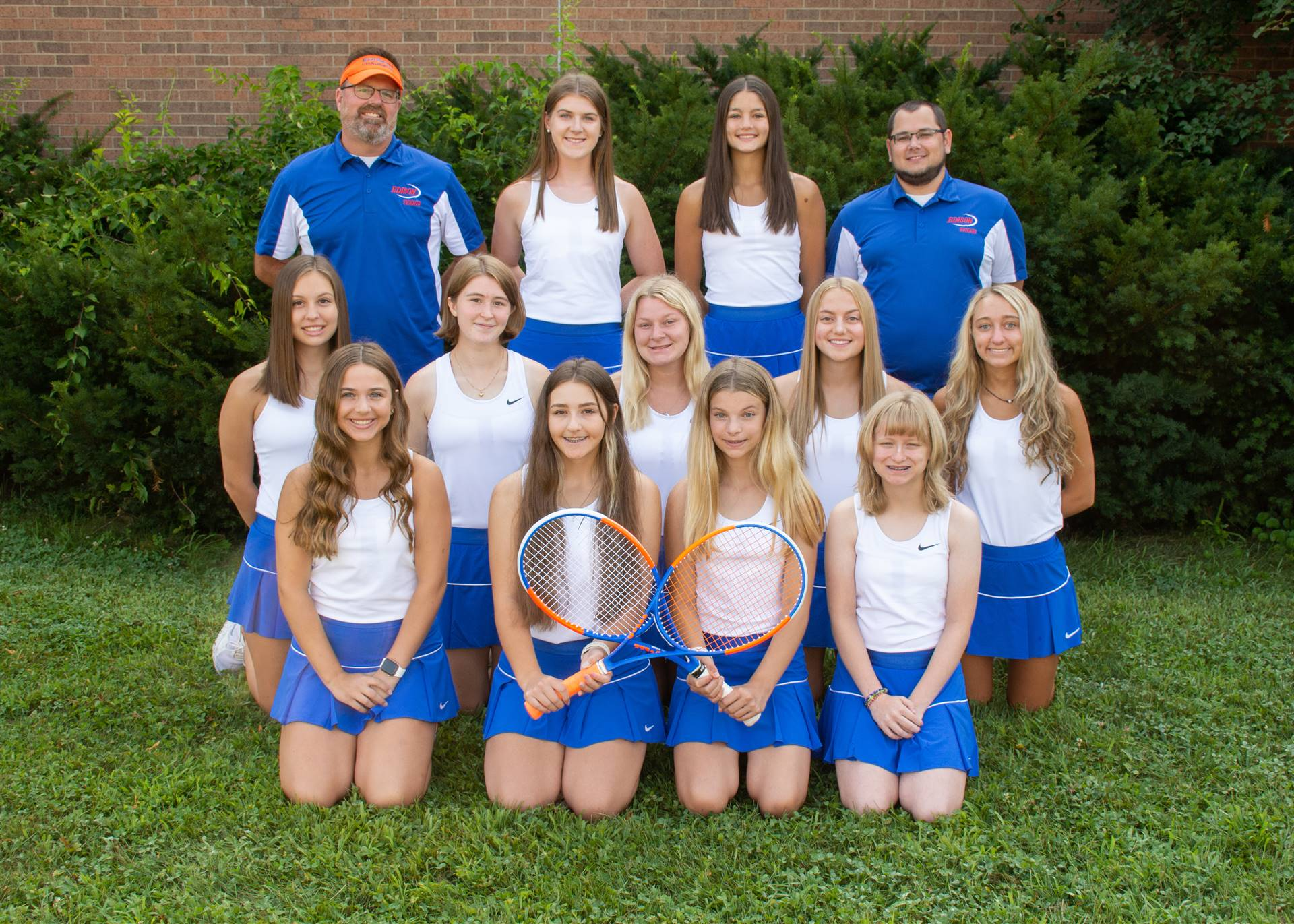 Lady Charger Tennis Team