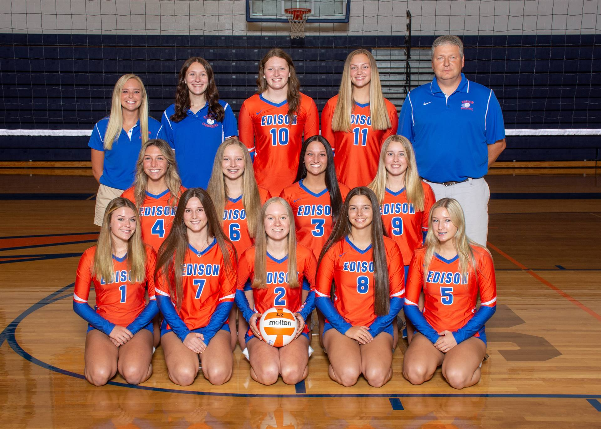 Lady Charger Varsity Volleyball