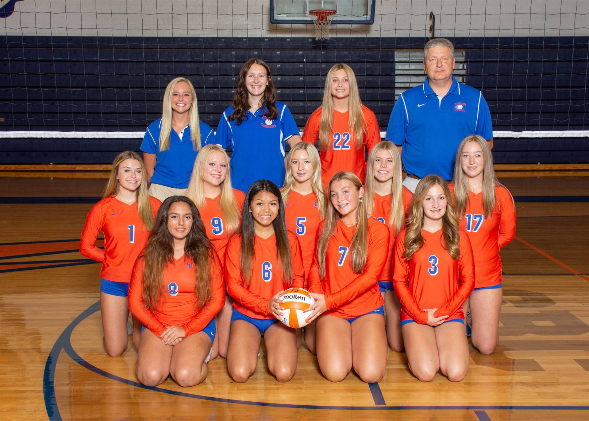 Lady Charger Junior Varsity Volleyball
