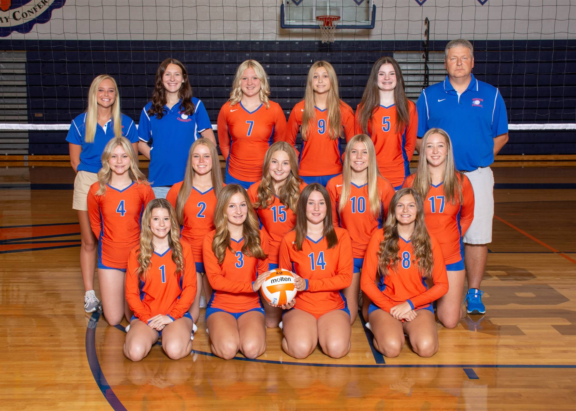 Lady Charger Freshman Volleyball