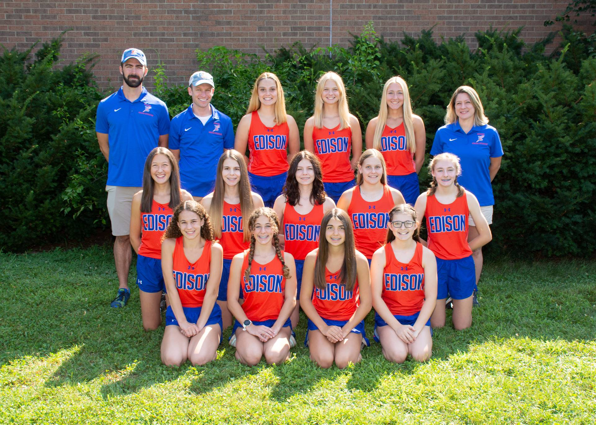 Lady Charger Cross Country Team