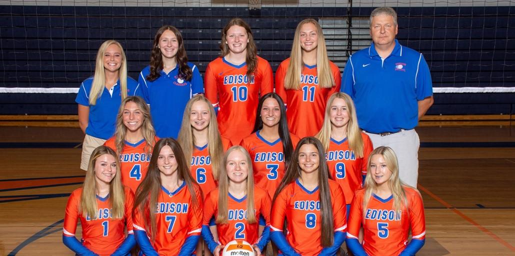 2021 Volleyball Team - Varsity